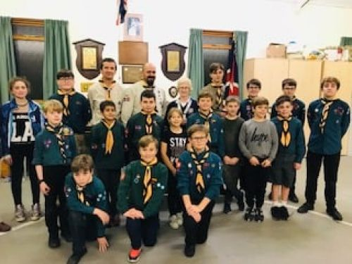 1st whitstable scouts