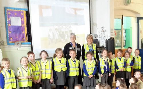 High Vis Jackets to Schools