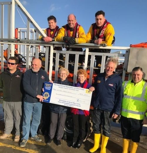 Lifeboat donation